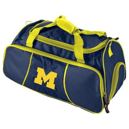 Michigan Wolverines Duffel Bag By Logo Brands