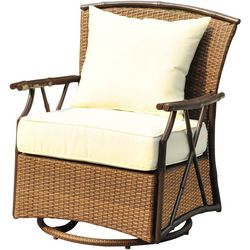 Panama Jack Rum Cay Swivel Lounge Chair