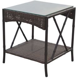 Panama Jack Rum Cay Patio End Table