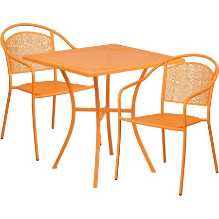 Flash Furniture 28'' Table & Round Back Chair