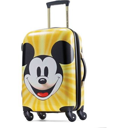 Disney Mickey Mouse Face 21'' Hardside Luggage