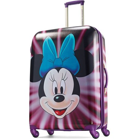 Disney Minnie Mouse Face 28'' Hardside Luggage