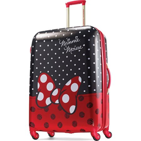 Disney Minnie Mouse Bow 28'' Hardside Luggage