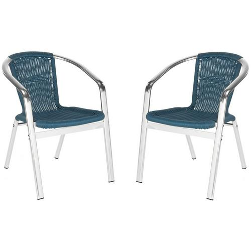 Safavieh Wrangell Teal Stacking Chair Set Bealls Florida