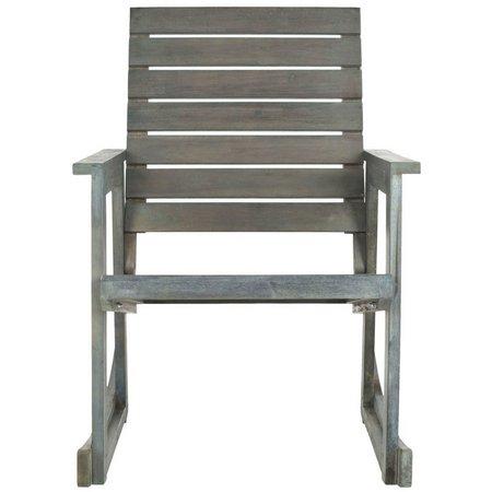 Safavieh Alexei Ash Grey Rocking Chair