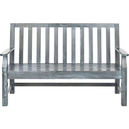 Safavieh Indaka Ash Grey Bench