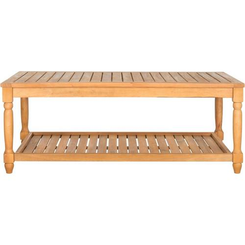 Safavieh Oakley Teak Outdoor Coffee Table Bealls Florida