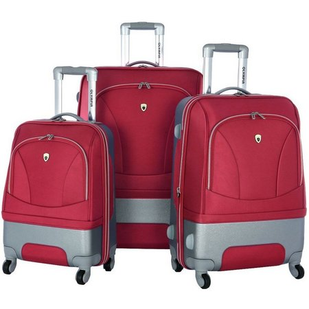 Olympia Luggage Majestic 3-pc. Hybrid Luggage Set