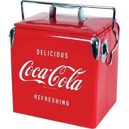 Koolatron Coca Cola Vintage Chest Cooler