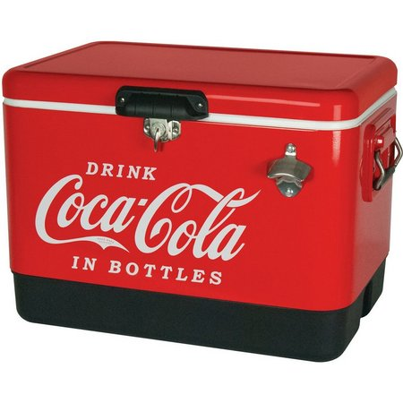 Koolatron Coca Cola Metal Chest Cooler