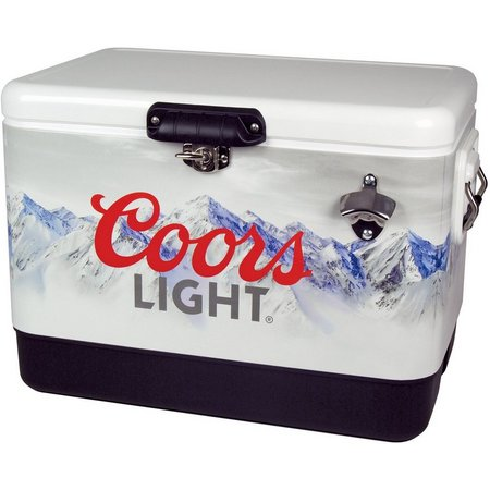 Koolatron Coors Light Metal Chest Cooler