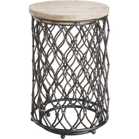 Coast to Coast Adner Driftwood Accent Table