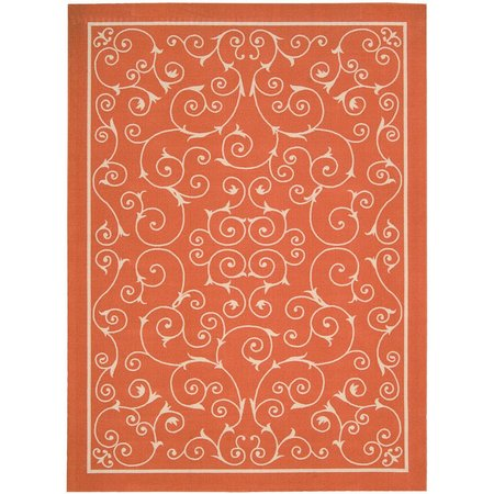Nourison Home & Garden RS019 Scroll Area Rug