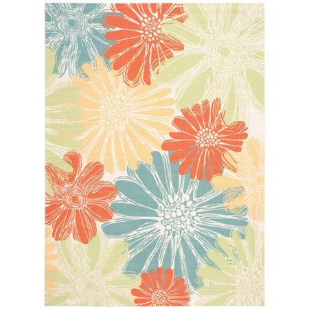 Nourison Home & Garden RS022 Ivory Area Rug