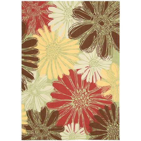 Nourison Home & Garden RS022 Green Area Rug