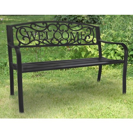 Jordan Cast Iron Welcome Bench Bealls Florida