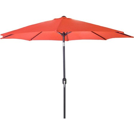 Jordan 9 Foot Steel Market Umbrella