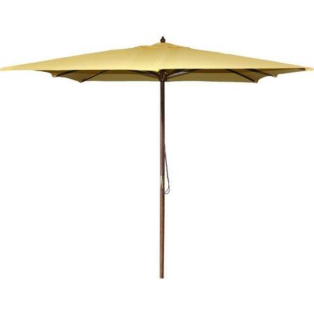 Jordan 8.5 Foot Square Wood Umbrella