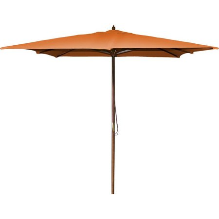 Jordan 8.5 Foot Square Wood Umbrella