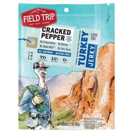 Field Trip Cracked Pepper Turkey Jerkey