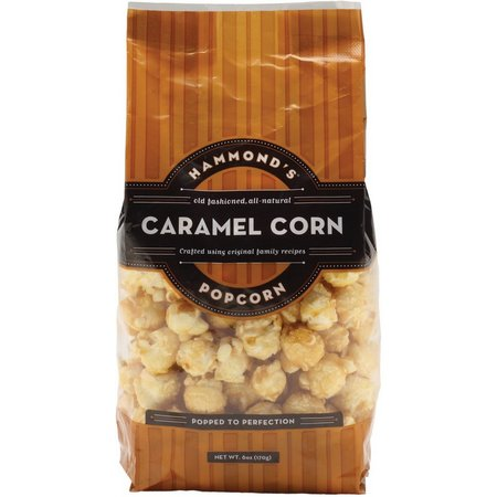 Hammonds Caramel Corn Crunch Popcorn