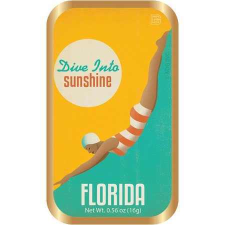Amusemints Florida Dive Into Sunshine Mint Tin