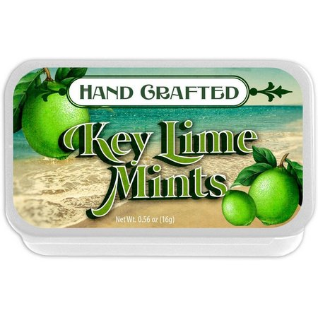 Amusemints Florida Key Lime Hand Crafted Mints
