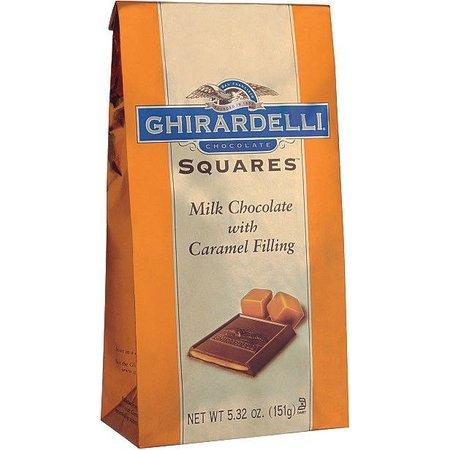 Ghirardelli Milk Chocolate & Carmel Squares