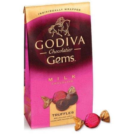 Godiva Milk Chocolate Truffle Gems Bag