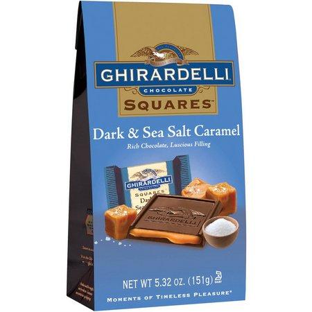 Ghirardelli Squares Dark Sea Salt Caramel Squares