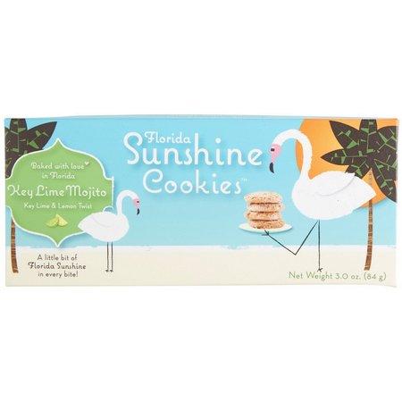 Delicio Florida Sunshine Key Lime Mojito Cookies