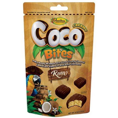 Anastasia Milk Chocolate Rum Coco Bites