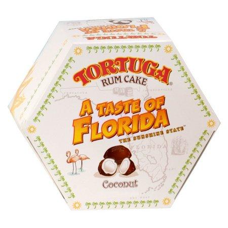 Tortuga 4 oz. Coconut Rum Cake