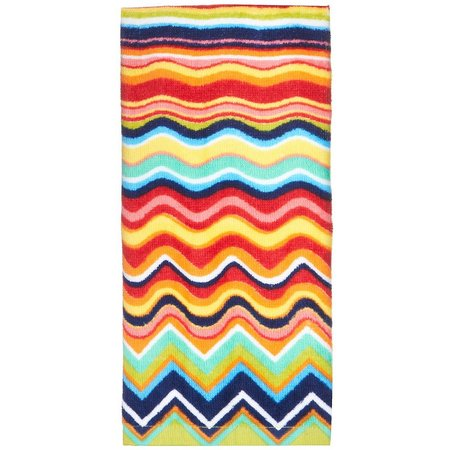 Fiesta Multicolor Zig Zag Kitchen Towel