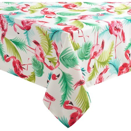 Benson Mills Flamingo Tablecloth