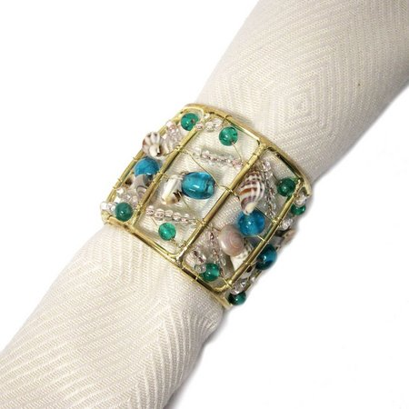Kemp & Beatley Coastal Frame Napkin Ring