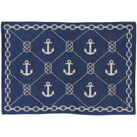 Natco Anchor Chain Tapestry Placemat