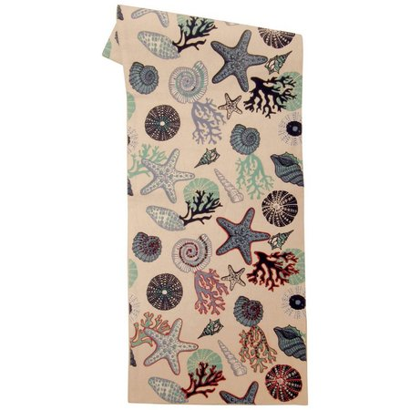 Leila's Linens Under The Sea Table Runner
