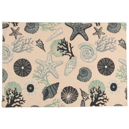 Leila's Linens Under The Sea Placemat