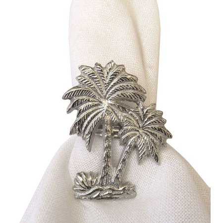 Leila's Linens Metal Palm Tree Napking Ring
