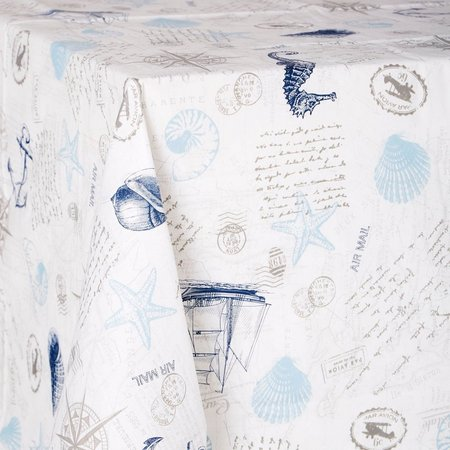 Tropix Coastal Blues Tablecloth