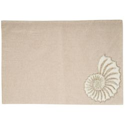 Homewear Beaded Nautilus Placemat
