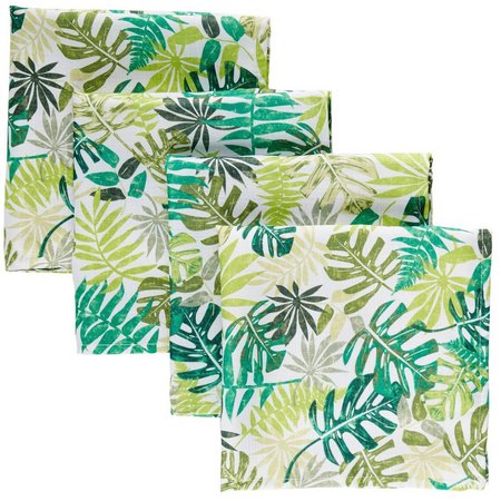 Homewear 4-pc. Tropical Watercolor Napkin Set