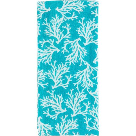 Homewear Coral Toss Kitchen Towel