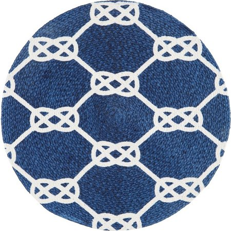 Homewear Hyannis Rope Cotton Round Placemat
