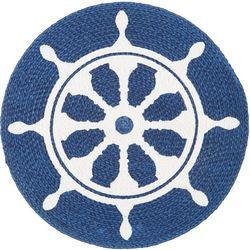 Homewear Captain's Wheel Round Placemat