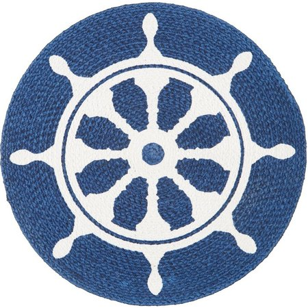 Homewear Captain's Wheel Round Placemat