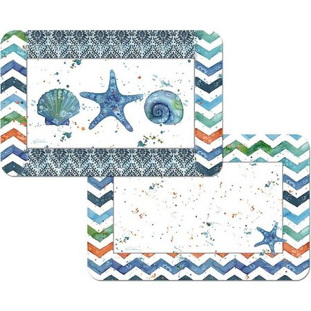 Counter Art Indigo Lagoon Reversible Placemat