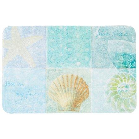 Counter Art Seaside Notebook Reversible Placemat