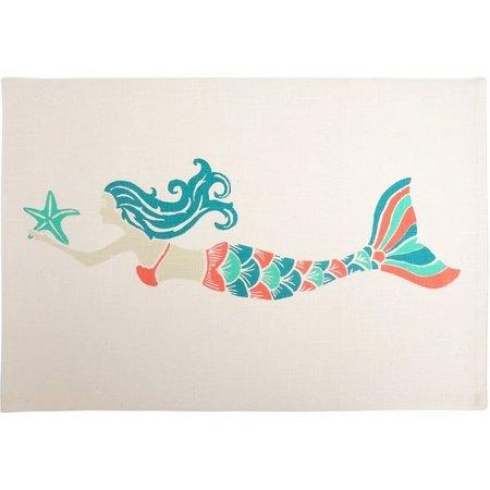 Arlee Mermaid Cotton Placemat